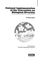 National Implementation of the Convention on Biological Diversity