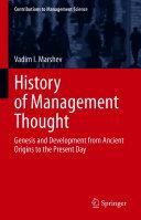History of Management Thought [Pdf/ePub] eBook