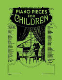 Piano Pieces for Children  Everybody s Favorite Series  No  3