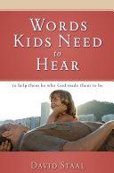 Words Kids Need to Hear Pdf/ePub eBook