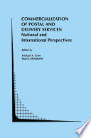 Commercialization of Postal and Delivery Services  National and International Perspectives