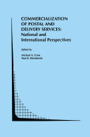 Commercialization of Postal and Delivery Services: National and International Perspectives [Pdf/ePub] eBook