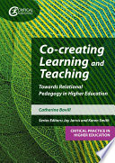 Co creating Learning and Teaching Book PDF