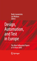 Pdf Design, Automation, and Test in Europe Telecharger