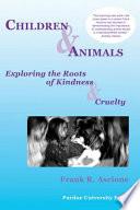 Children And Animals Book PDF
