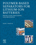 Polymer-Based Separators for Lithium-Ion Batteries
