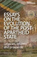 Essays on the Evolution of the Post-Apartheid State [Pdf/ePub] eBook