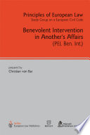 Benevolent Intervention In Another S Affairs