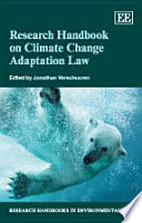Research Handbook on Climate Change Adaptation Law Book