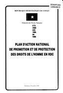 Plan d'action national de promotion et de protection des droits de l'homme en RDC.