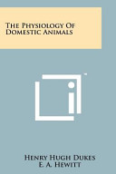 The Physiology of Domestic Animals