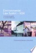 Environmental Law Toolkit  NSW