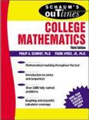 Schaum s Outline of College Mathematics