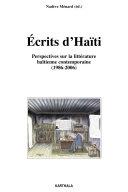 Pdf Ecrits d'Haïti, Perspectives sur la littérature haïtienne contemporaine (1986-2006) Telecharger
