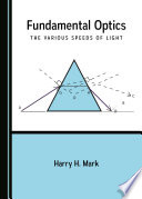 Fundamental Optics