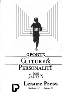 Sports  Culture   Personality