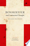 Bonhoeffer and Continental Thought