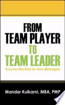 From Team Player to Team Leader