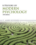 A History of Modern Psychology  5th Edition Book PDF