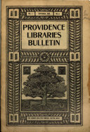 Coöperative Bulletin of the Providence Libraries ...