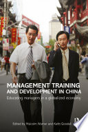 Management Training And Development In China Book PDF