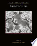 Lipid Droplets Book PDF