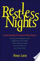 Restless Nights Book