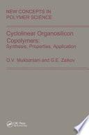 Cyclolinear Organosilicon Copolymers