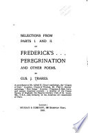 Selections from Parts I and II of Frederick's Peregrination and Other Poems