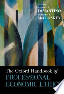 The Oxford Handbook of Professional Economic Ethics