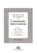 Tactics and Techniques of Community Intervention
