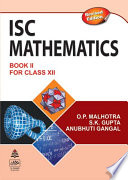 S. Chand's ISC Mathematics Class-XII