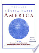 Towards a Sustainable America