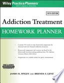 """Addiction Treatment Homework Planner"" by James R. Finley, Brenda S. Lenz, Arthur E. Jongsma, Jr."