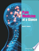 Pain Medicine at a Glance Book
