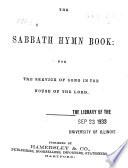 The Sabbath Hymn Book