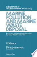 Marine Pollution And Marine Waste Disposal Book PDF