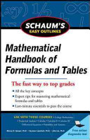 Schaum s Easy Outline of Mathematical Handbook of Formulas and Tables  Revised Edition