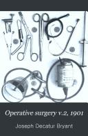 Operative surgery v 2  1901