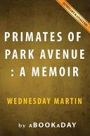 Primates of Park Avenue Book PDF