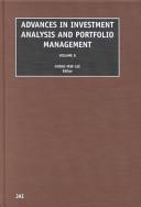 Advances in Investment Analysis and Portfolio Management