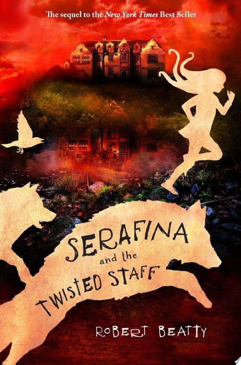 Serafina and the Twisted Staff banner backdrop