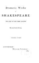 King Henry IV  part 1  King Henry IV  part 2  King Henry V  King Henry VI  part 1
