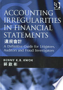 Accounting Irregularities in Financial Statements