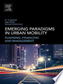 Emerging Paradigms in Urban Mobility