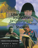 Literacy Instruction For Culturally And Linguistically Diverse Students