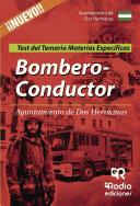 Bombero-Conductor del Ayuntamiento de Dos Hermanas. Test del Temario de Materias Específicas