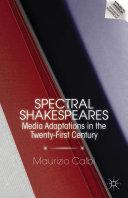 Spectral Shakespeares Pdf/ePub eBook