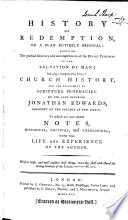 History of redemption     with the life and experience of the author Book PDF