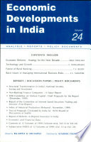 Economic Developments In India Monthly Update Volume 24 Analysis Reports Policy Documents